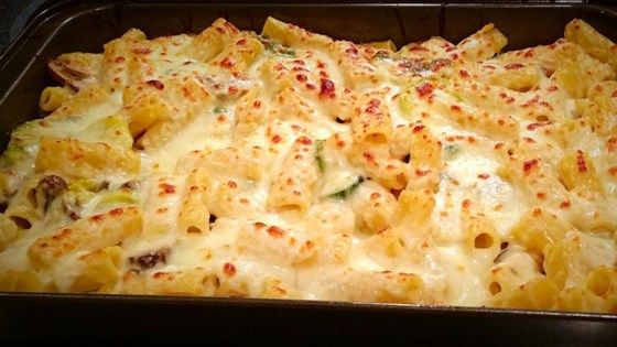 Photo of Creamy Zucchini and Spinach Rigatoni by Kraft