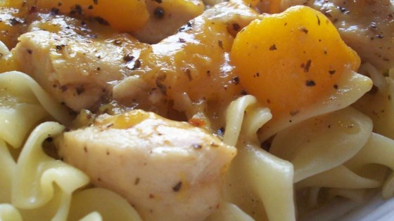 Photo of Byrdhouse Spicy Chicken and Peaches by SunnyByrd