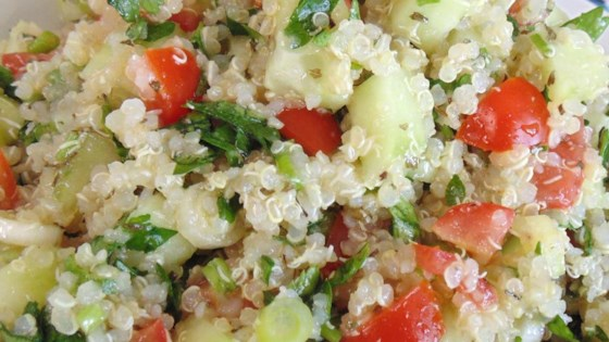 Photo of Quinoa Tabbouleh Salad by Nadine