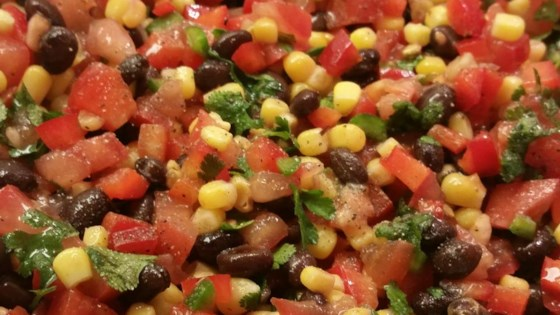 Photo of Zesty Black Bean and Corn Salsa by Sarah