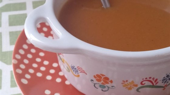 Photo of Slow Cooker Butternut Squash Soup  by NATAVE