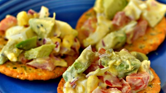 Photo of Creamy Avocado Egg Salad by tracy918