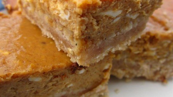 Yummy Pumpkin Cheesecake Bars Recipe