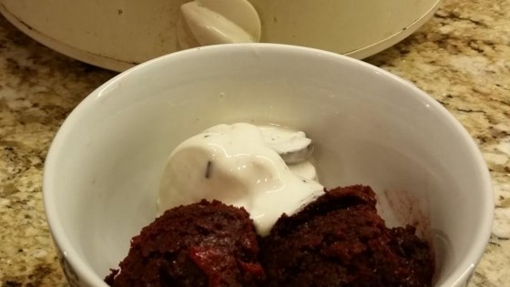 Photo of Chocolate Cherry Slow Cooker Cake by beth toz