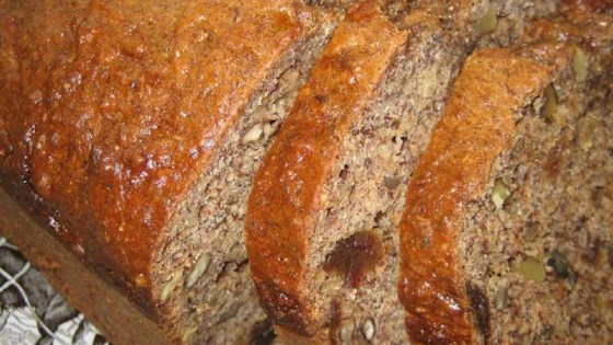 Photo of Banana Date Flaxseed Bread by RUGGLES