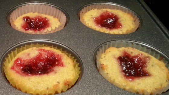 Photo of Paleo Jelly Donut Cupcakes by Chris Denzer