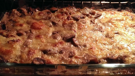 Photo of Spinach and Mushroom Casserole by CathyM