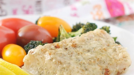 Creamy Parmesan Sauce for Fish
