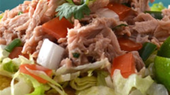 Photo of Clamato® Tuna Tostadas by Clamato