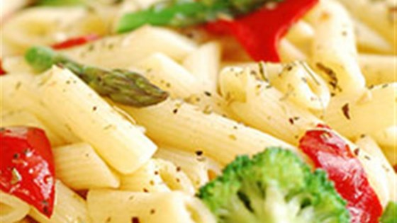 Photo of Clamato® Pasta Primavera with Creamy Sauce by Clamato