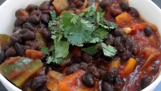 'Anything Goes' Easy Black Beans