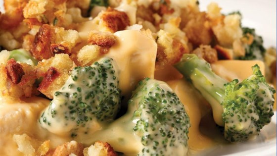 Photo of Cheesy Chicken & Broccoli Bake by VELVEETA Cheese