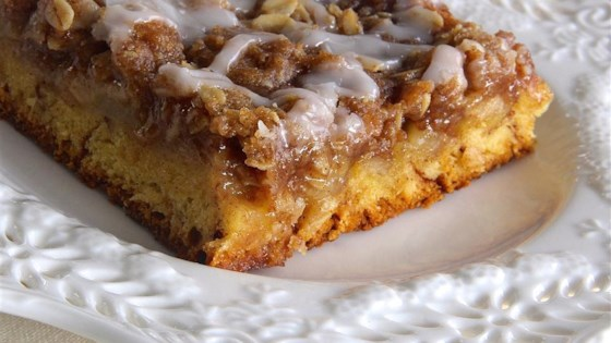 Cinnamon Roll Apple Crisp Recipe