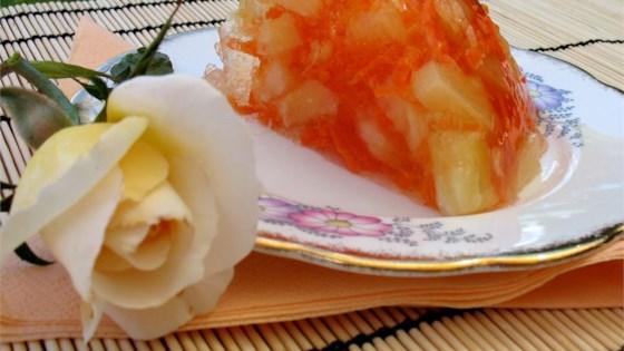 Carrot Gelatin Salad
