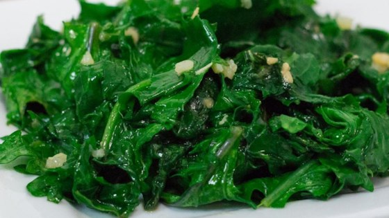 Photo of Easy Garlic Kale by WHIRLEDPEAS
