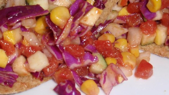 Photo of Bean and Veggie Pitas by Renee  Flott