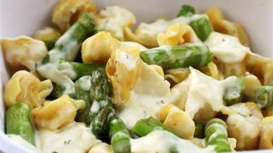 Photo of Tortellini-Asparagus Salad by ReaLemon/ReaLime
