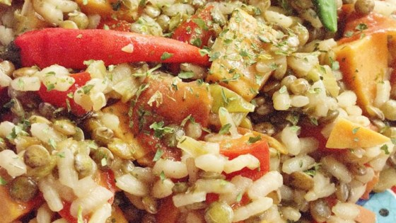 Photo of Rice and Lentil Casserole by jill