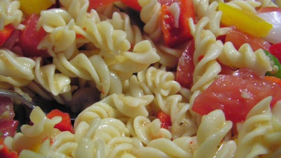 Photo of Italian Pasta Veggie Salad by Rhonda