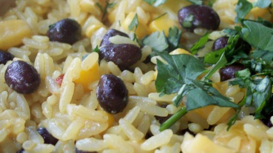 Photo of Black Beans, Corn, and Yellow Rice by tahoegirl