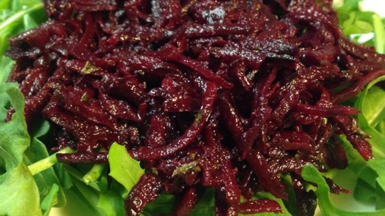 Photo of Raw Beet Salad by cheesemaker