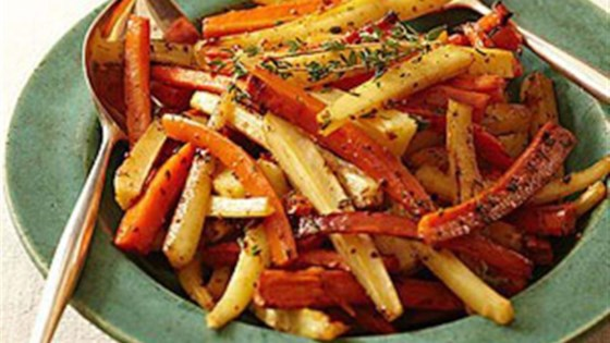 Cider-Roasted Carrots and Parsnips