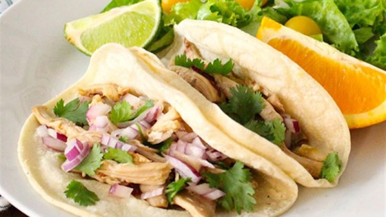 Photo of Slow Cooker Pulled Chicken Tacos by Reynolds Kitchens®