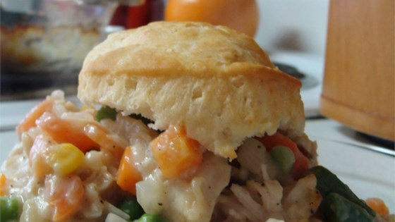 Chicken Biscuit Pie