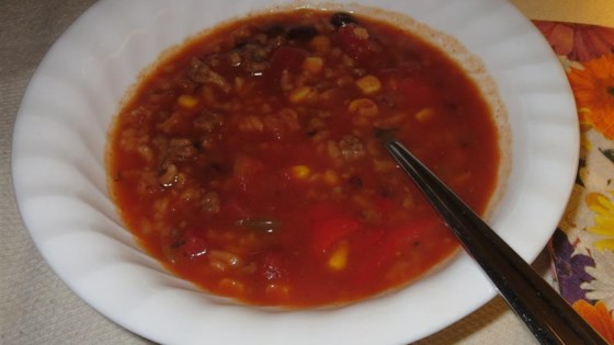 Photo of Stuffed Pepper Soup by Ashley Hume Saar