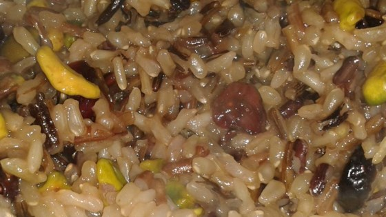 Photo of Orange Wild Rice with Pistachios and Cranberries by CupcakeSparkles11