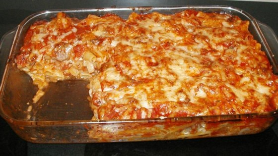 Photo of Ziti with Italian Sausage by George Couch