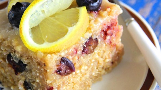 Photo of Blueberry Quinoa with Lemon Glaze by Paula DiBacco