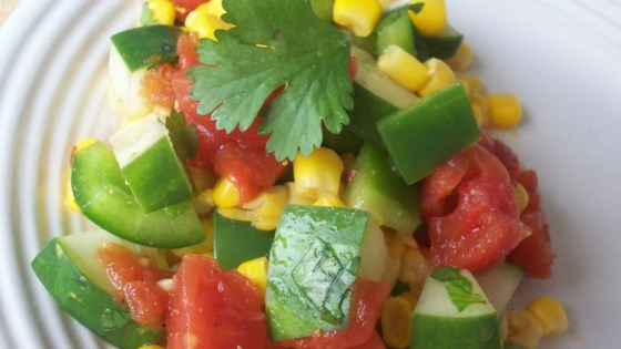 Photo of Mexican Cucumber Salad by ECUADORITA