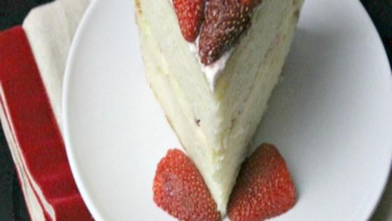 Photo of Strawberry Cheesecake Cake by Sandra L. Garth