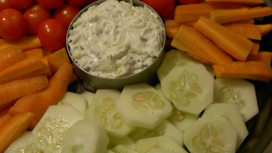 Photo of Zucchini Chive Dip by CORWYNN DARKHOLME