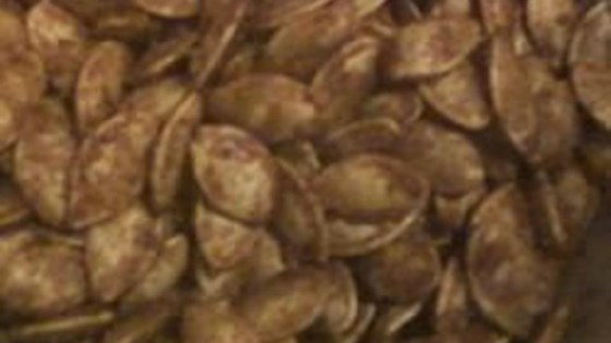 Photo of Cinnamon and Ginger Caramelized Pumpkin Seeds by Kittycat