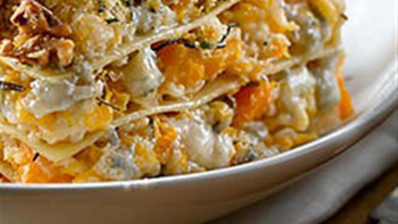 Photo of Roasted Butternut Squash Lasagna with Gorgonzola by Gay Lea Foods Co-operative®