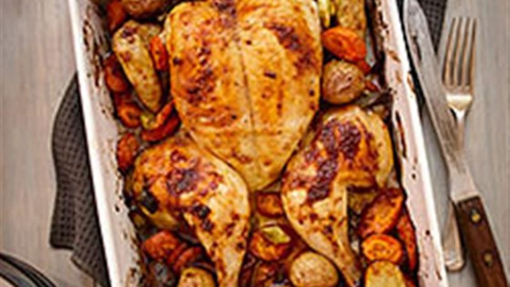 Photo of Spice Rubbed Flattened Roast Chicken by Gay Lea Foods Co-operative®