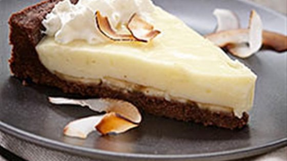 Photo of The Ultimate Chocolate Coconut Banana Cream Pie by Gay Lea Foods Co-operative®