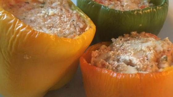 Photo of Vegetarian Stuffed Bell Peppers by Nancy Marzilli