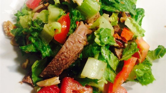 Photo of Steak Salad (Ranen Salad) by Rebecca