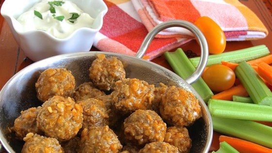 Photo of Spicy Buffalo-Style Meatballs by Sagitta