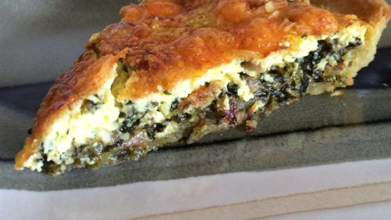 Spinach quiche recipe allrecipes photo of spinach quiche by bailey forumfinder Choice Image