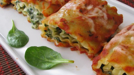 Photo of Spinach Lasagna Rolls by Philadelphia