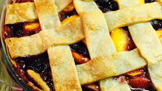 Photo of Cherry Berry Peach Pie by Patty S