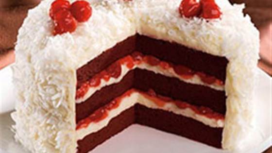Photo of Cherry Red Velvet Cake by Duncan Hines® Canada