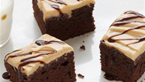 Photo of Peanut Butter Brownie Squares by Duncan Hines® Canada