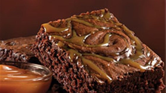Photo of Salted Caramel Brownies by Duncan Hines® Canada