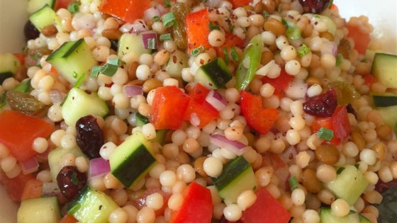 Photo of Pearl Couscous Salad by Susan
