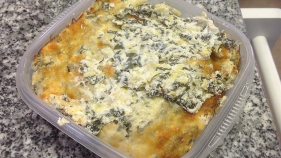 Photo of Healthier Hot Artichoke and Spinach Dip II by MakeItHealthy